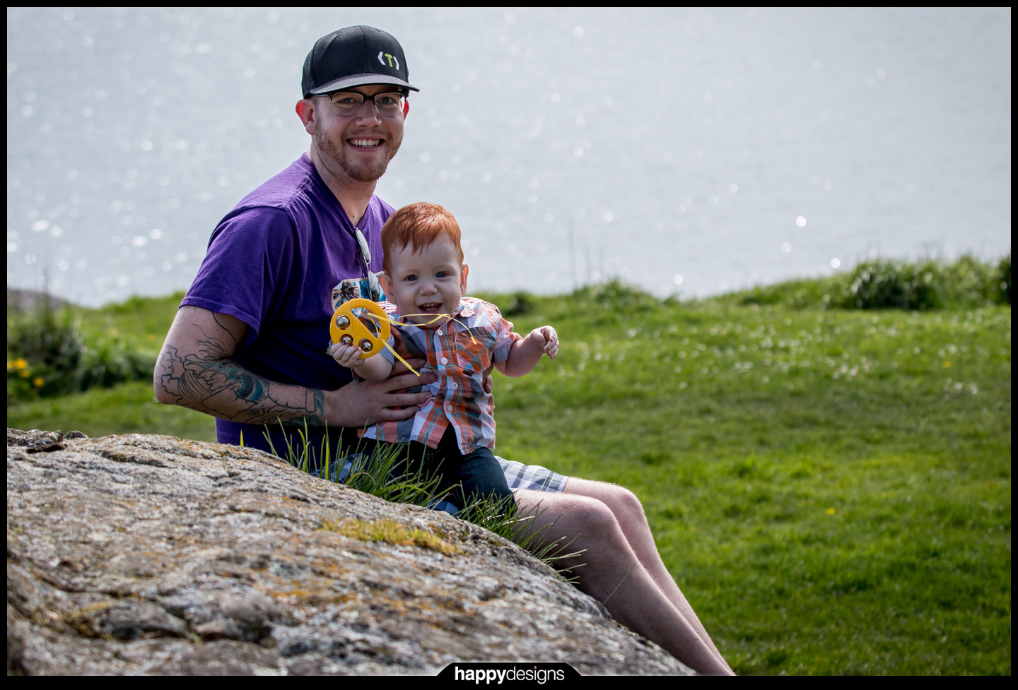 20150407 - Dylan and Iver outside!-0002