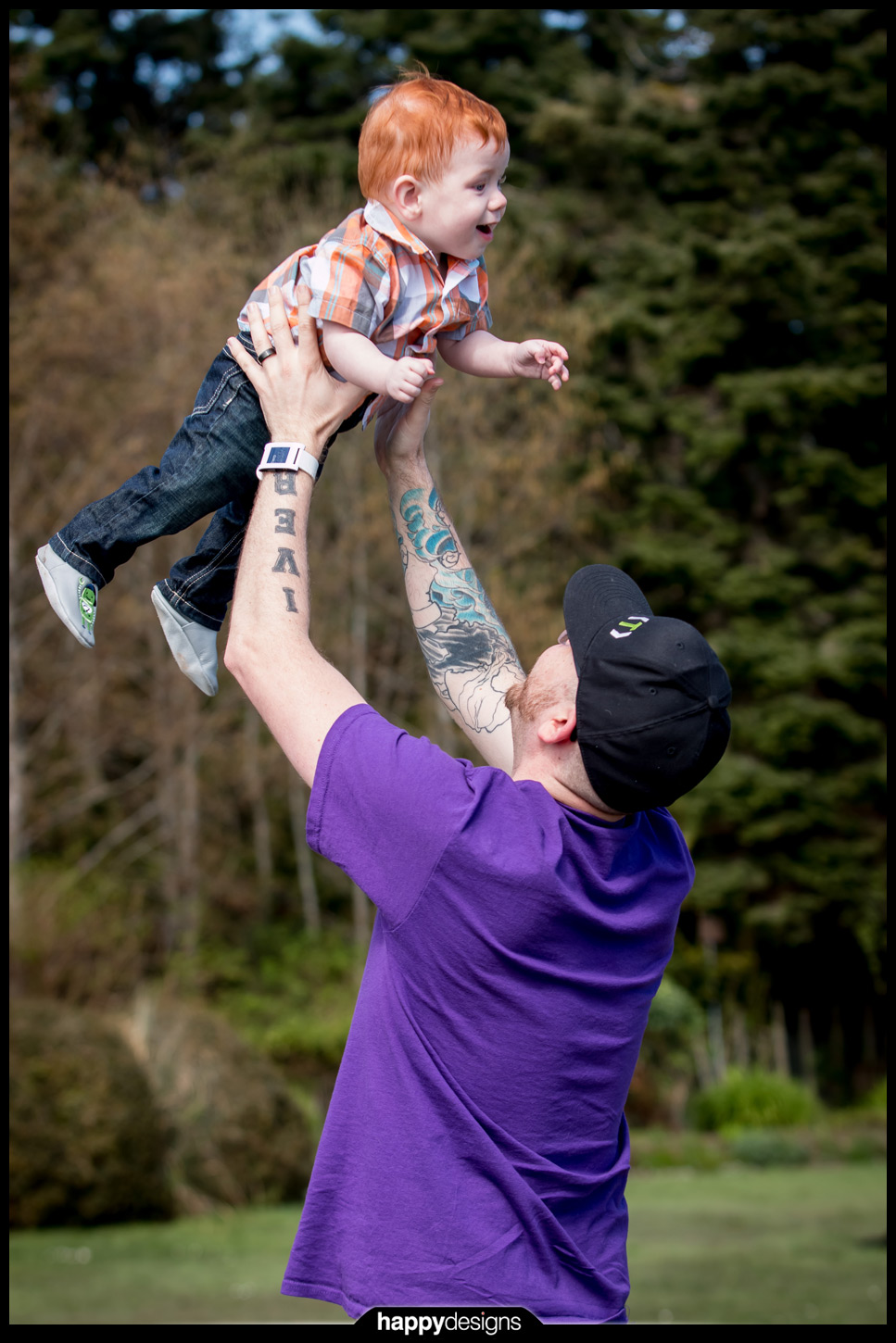 20150407 - Dylan and Iver outside!-0003