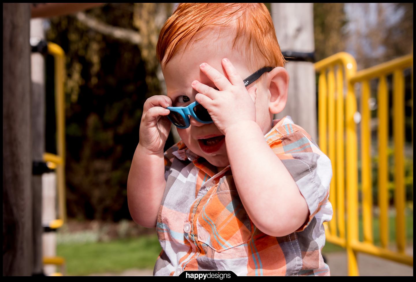 20150407 - Dylan and Iver outside!-0006